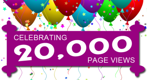 20,000 Page Views